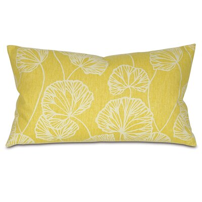 Sylvia Throw Pillow Color: Chartreuse