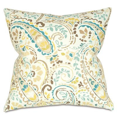 Morrison Linen Throw Pillow Color: Aqua