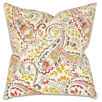 Morrison Linen Throw Pillow Color: Spice