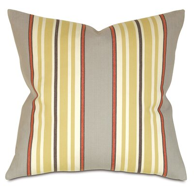 Lauderdale Cotton Throw Pillow Color: Spice