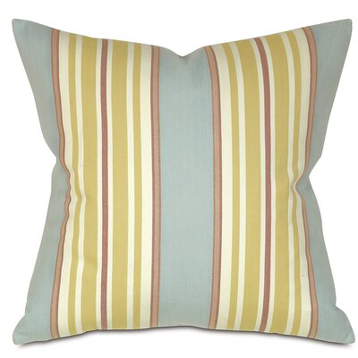 Lauderdale Cotton Throw Pillow Color: Ocean
