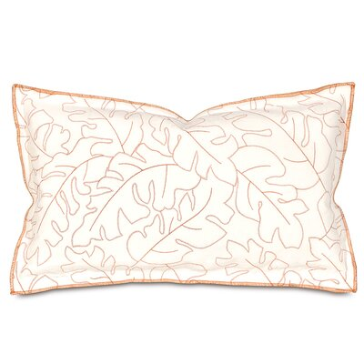 Treviso Lumbar Pillow Color: Rust