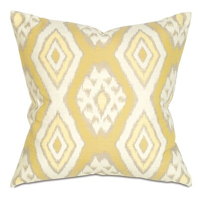 Fey Throw Pillow Color: Lemon