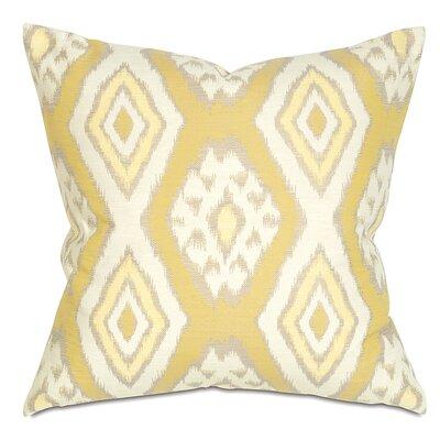 Fey Throw Pillow Color: Lemon