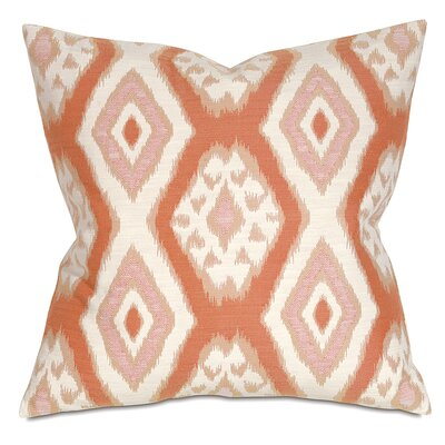 Fey Throw Pillow Color: Terracotta