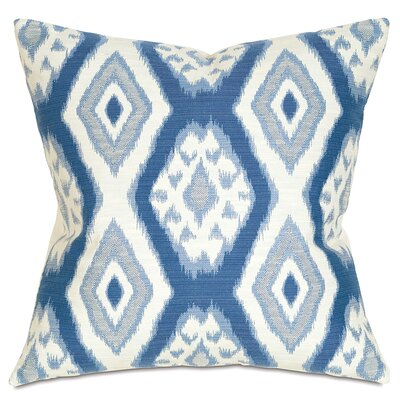 Fey Throw Pillow Color: Marine
