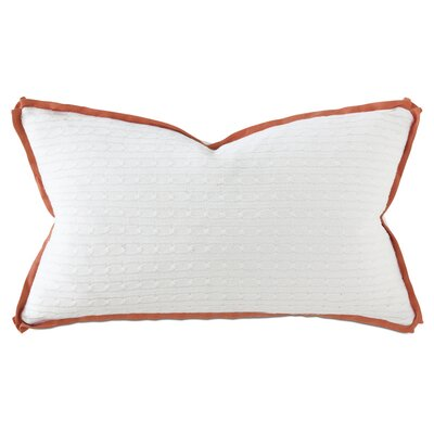 Marvel Jude Lumbar Pillow Color: Tangerine