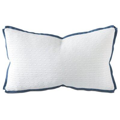 Marvel Jude Lumbar Pillow Color: Sapphire