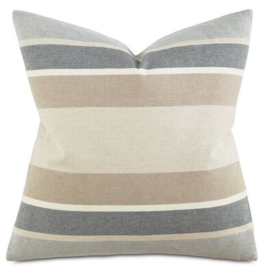 Wainscott Throw Pillow Color: Buff