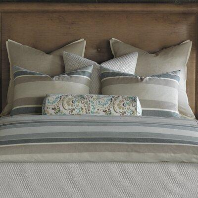 Wainscott Morrison Aqua Bolster Pillow