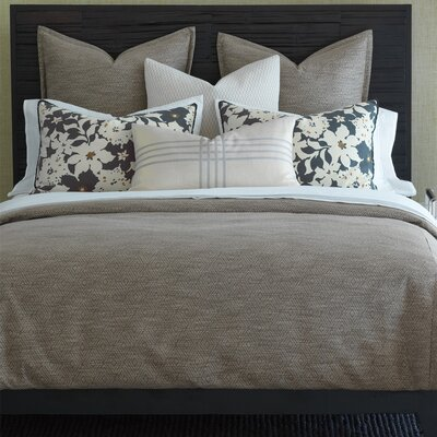 Henning Daffin Umber Comforter Size: Twin