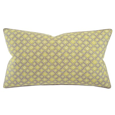 Fairfield Kemal Yellow/Gray Sham Size: King