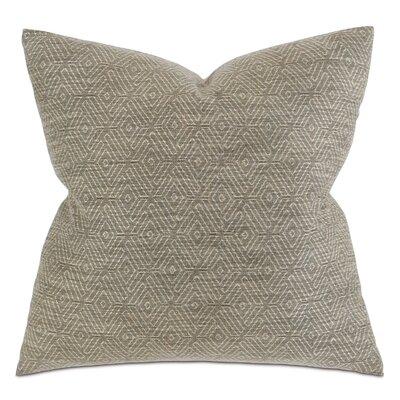 Henning Daffin Umber Throw Pillow