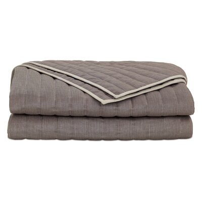 Fairfield Flynn Quartz Coverlet Size: Super King