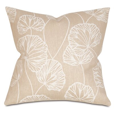 Sylvia Throw Pillow Color: Salt