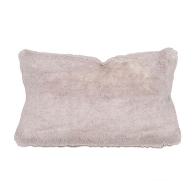 Nico Damien Fox Faux Fur Lumbar Pillow