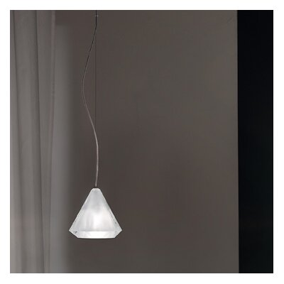 Karat 1-Light Mini Pendant Finish: Sandblasted
