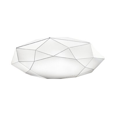Diamond 2-Light Flush Mount