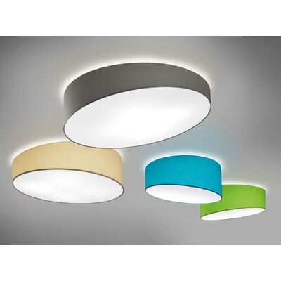 Pank 3-Light Flush mount