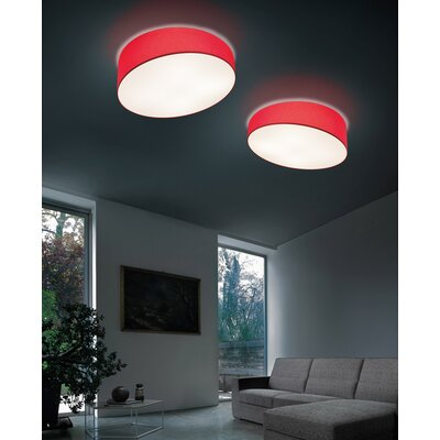 Pank 6-Light Flush mount