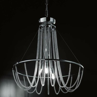Fall 3-Light Crystal Chandelier Crystal Color: Strass Swarovski