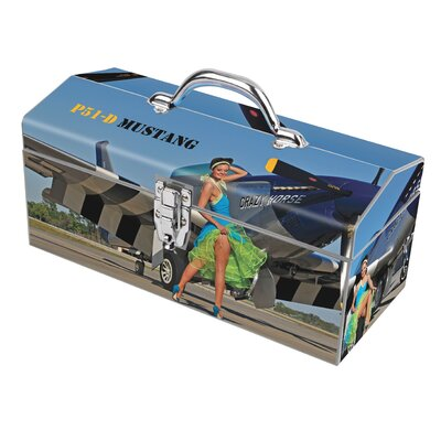 Sainty Art Works Warbird Pinup Girls Crazy Horse Toolbox at Sears.com