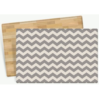 Starner Zig Zag Design Cushion Doormat Mat Size: Rectangle 47 x 611
