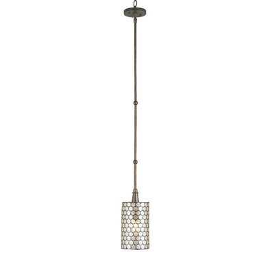 Regatta 1-Light Drum Pendant