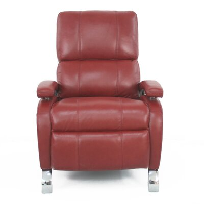Oracle ll Leather Recliner Upholstery: Stargo Red
