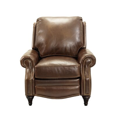 Avery Leather Manual Recliner