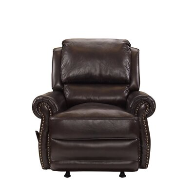 Vintage Regency Manual Rocker Recliner Upholstery: Double Fudge