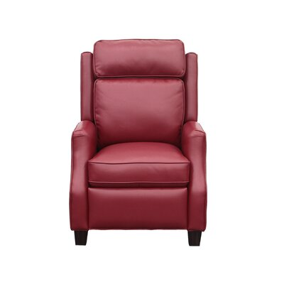 Vintage Nixon Recliner Upholstery: Fire Red