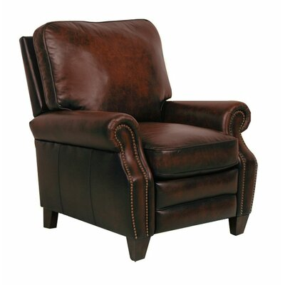 Briarwood II Leather Manual Recliner Type: Manual, Upholstery: Stetson Coffee