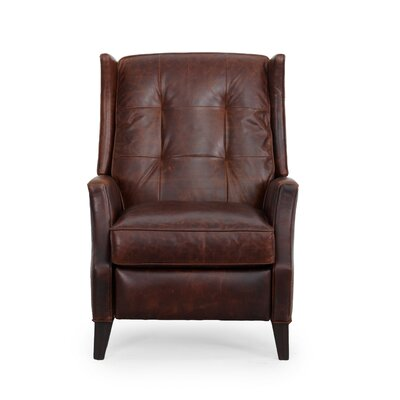Lincoln Top Grain Leather Recliner