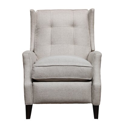 Lincoln Manual Recliner Upholstery: Light Taupe