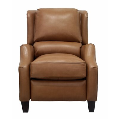 Berkeley Leather Recliner Upholstery: Camel