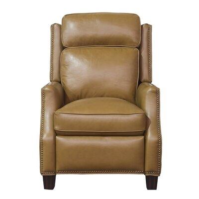 Van Buren Manual Recliner Upholstery: Carmel