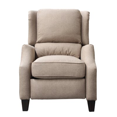Treiber Manual Recliner Upholstery: Light Camel