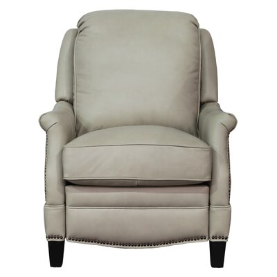Ashebrooke Leather Manual Recliner Upholstery: Shoreham Cream