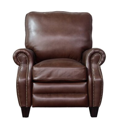Ponteland Leather Recliner Upholstery: Shoreham Chocolate