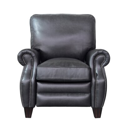 Ponteland Leather Recliner Upholstery: Shoreham Gray