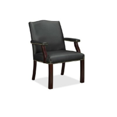 Trumer Wood Guest Chair Seat Color: Black