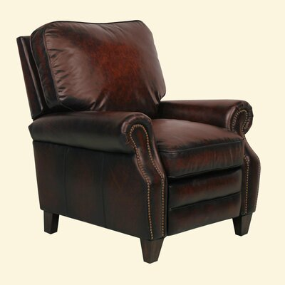 Briarwood ll Leather Recliner Color: Stetson Bordeaux