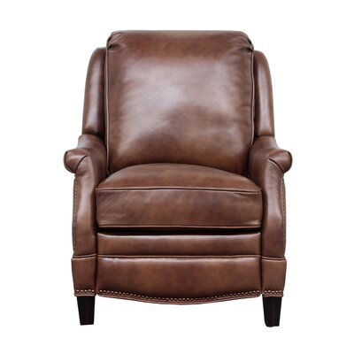 Ashebrooke Leather Manual Recliner Upholstery: Wenlock Tawny