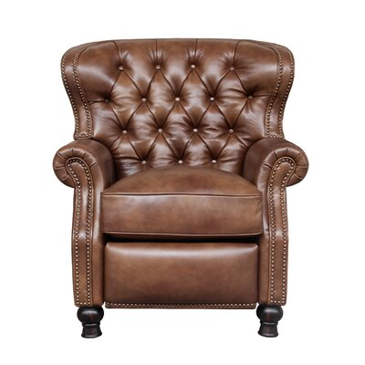 Coretta Presidential Recliner Upholstery: Wenlock Tawny