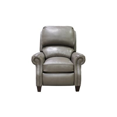 Churchill Leather Manual Recliner Upholstery: Wenlock Dark Taupe