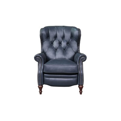 McManus Leather Manual Recliner