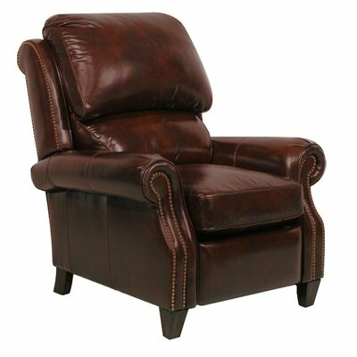 Churchill II Recliner Type: Manual, Upholstery: Double Fudge