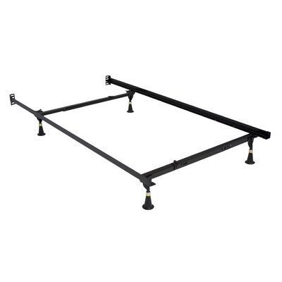 Premium Lev-R-Lock Glides Bed Frame Size: Twin/Full