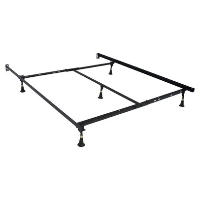 Premium Lev-R-Lock Glides Bed Frame Size: Twin/Full/Queen
